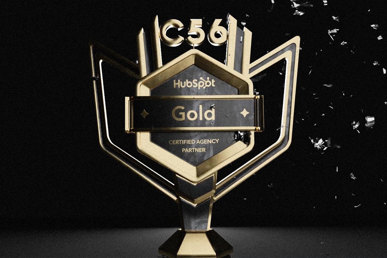 Compani 56 är Guldpartner till Hubspot!